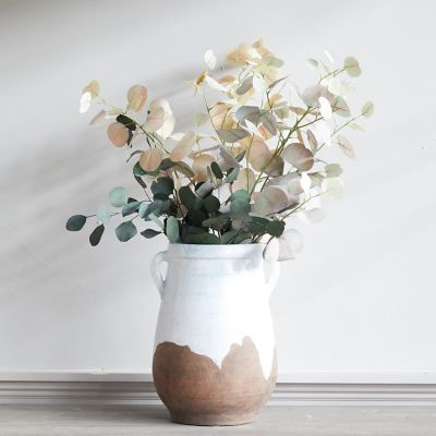Drip Clay Jug Vase, Medium