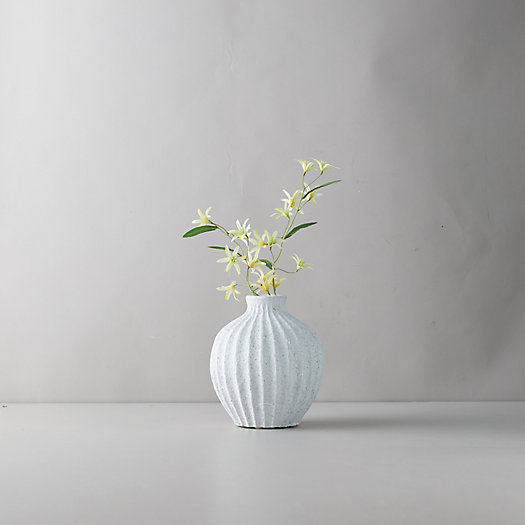 View larger image of Clay Accordion Bulb Vase