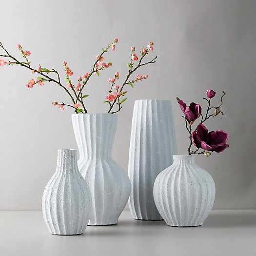 View larger image of Clay Accordion Column Vase