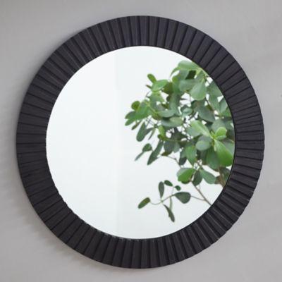 Ridge Frame Round Outdoor Mirror