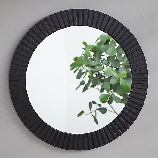 View larger image of Ridge Frame Round Outdoor Mirror
