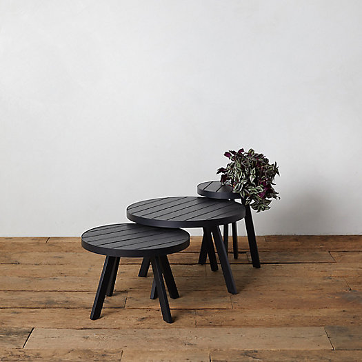 View larger image of Slatted Steel Nesting Table