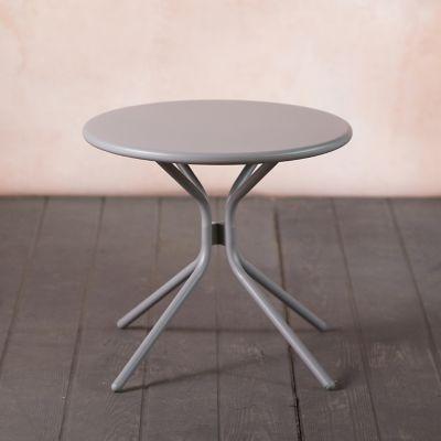 Oxbow Steel Side Table