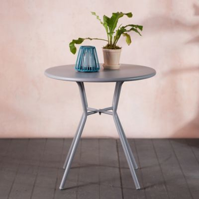 Oxbow Steel Dining Table, Small