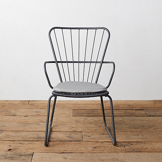 View larger image of Oxbow Steel Armchair