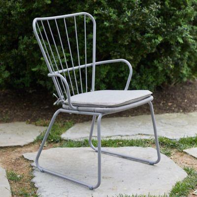Oxbow Steel Armchair