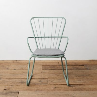 Oxbow Steel Armchair