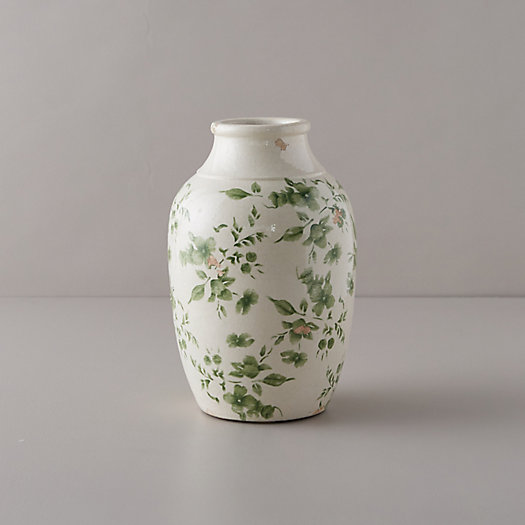View larger image of Green Chinoiserie Jar Vase