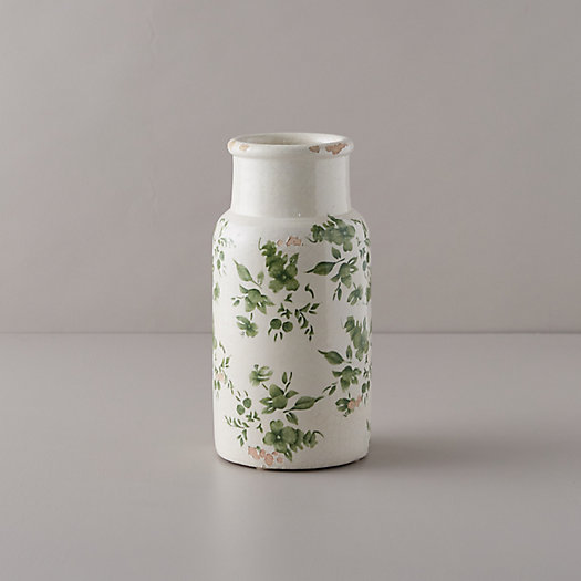 View larger image of Green Chinoiserie Column Vase
