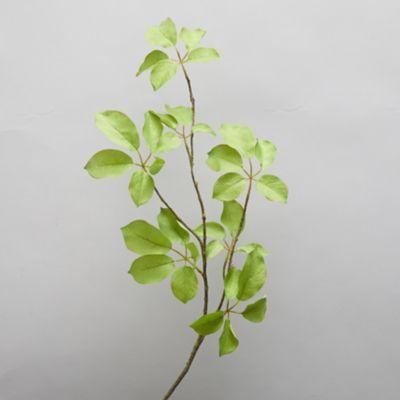 Faux Green Leaf Spray