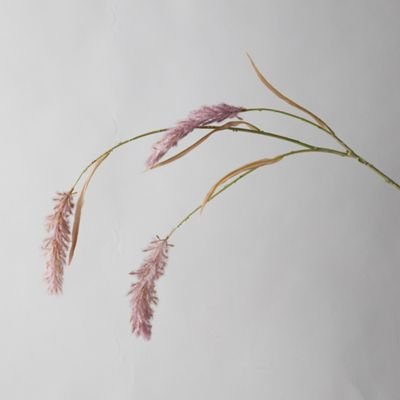 Faux Lavender Grass Plume
