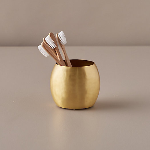 View larger image of Brass Toothbrush Holder