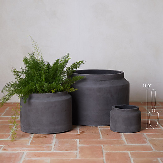 View larger image of Fiber Jar Planter