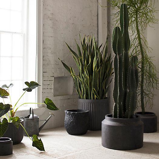 View larger image of Fiber Jar Planter