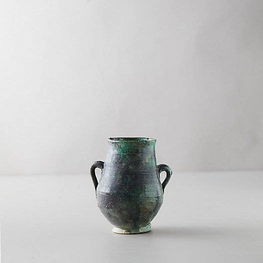 View larger image of Decorative Ceramic Moroccan Vase, Green