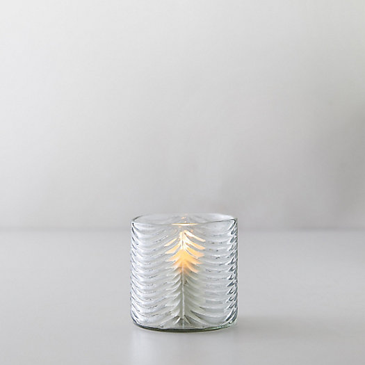 View larger image of Waved Glass Votive