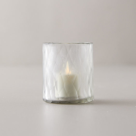 View larger image of Etched Glass Tea Light Holder
