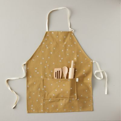 Kids Starry Neutral Apron