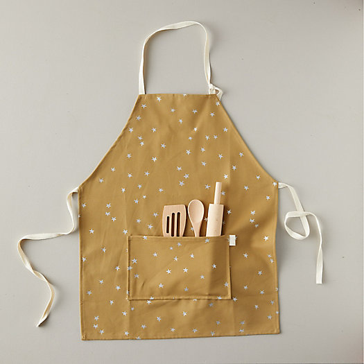 View larger image of Kids Starry Neutral Apron