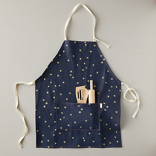View larger image of Kids Starry Denim Apron