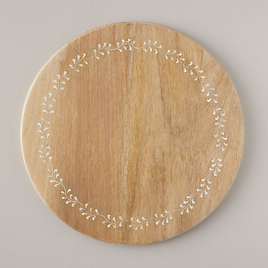 View larger image of Bone Inlay Mango Wood Serving Board