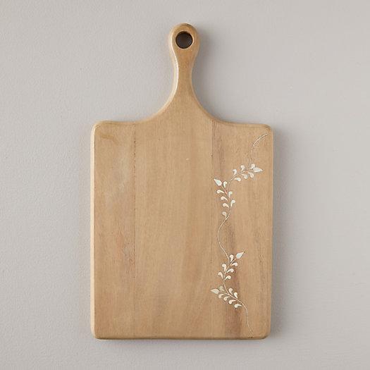 View larger image of Bone Inlay Mango Wood Serving Board