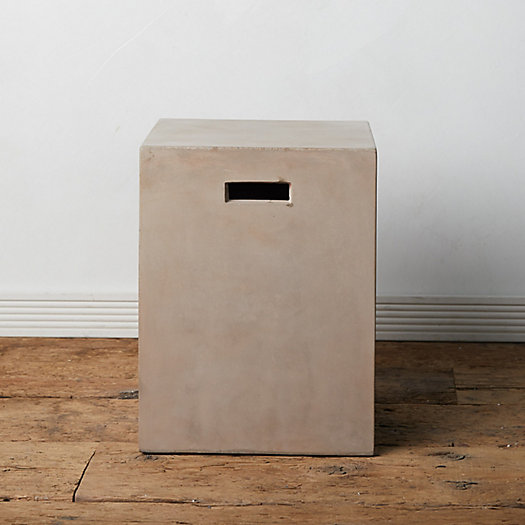 View larger image of Concrete Square Stool