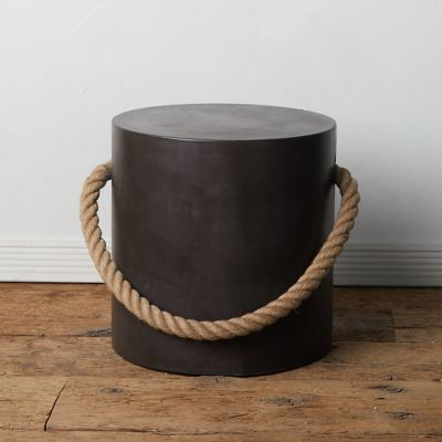 Rope Concrete Stool