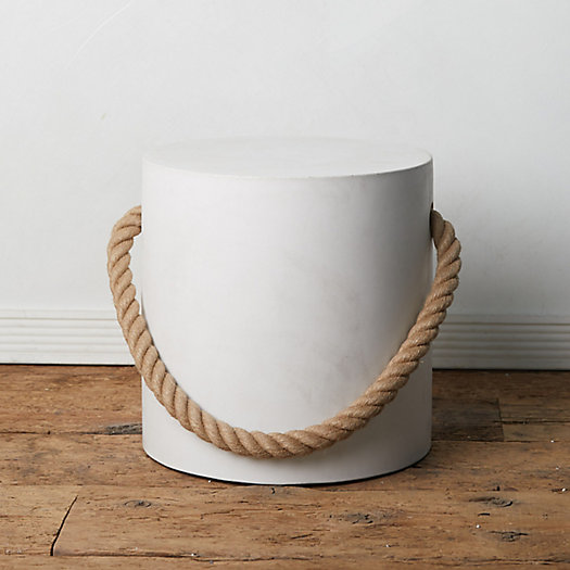View larger image of Rope Concrete Stool