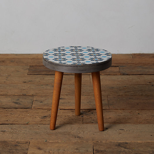 View larger image of Cove Concrete + Wood Side Table