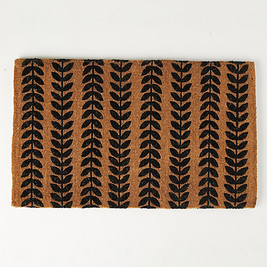 View larger image of Running Leaves Doormat