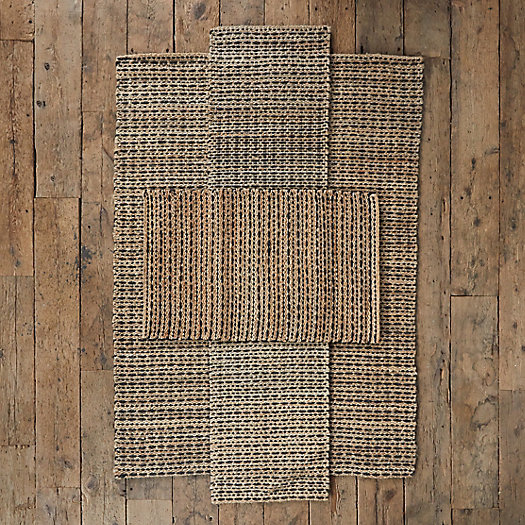 View larger image of Dot + Stripe Jute Rug