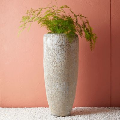 Barnacle Tall Modern Pot