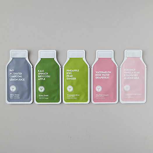 View larger image of Juice Cleanse Sheet Masks, Set of 5