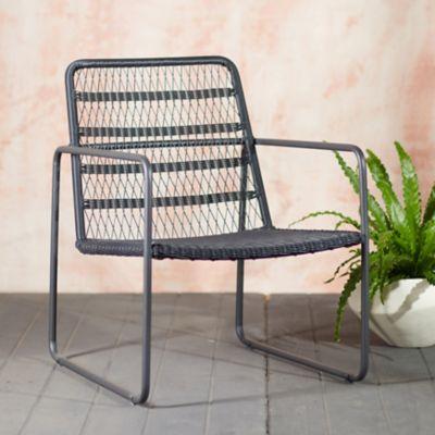 Longshore Woven Wicker Chair