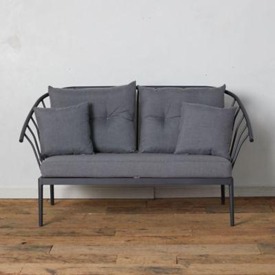 Grayland Garden Two Seat Sofa