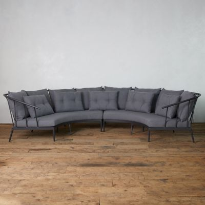Grayland Crescent Sectional Sofa