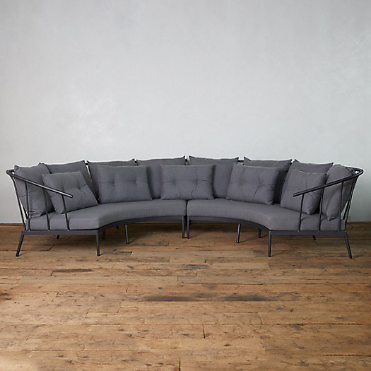View larger image of Grayland Crescent Sectional Sofa