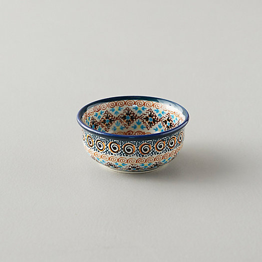 View larger image of Tiled Flora Pinch Bowl, Teal