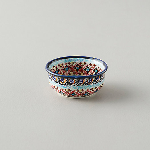 View larger image of Tiled Flora Ceramic Pinch Bowl, Black