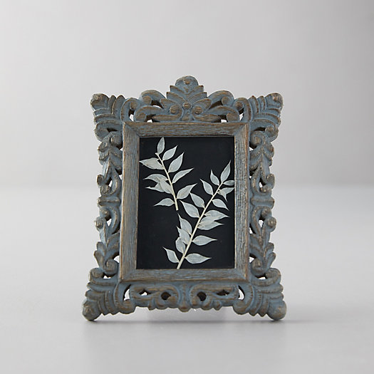 View larger image of Distressed Wood Frame, Blue