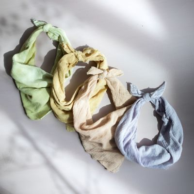 Plant-Dyed Cotton Bandana