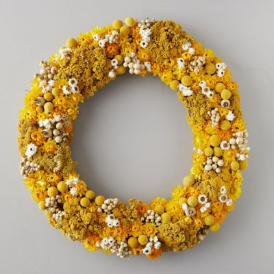 Yellow Monochrome Wreath