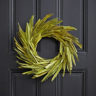 Preserved Palm Wreath