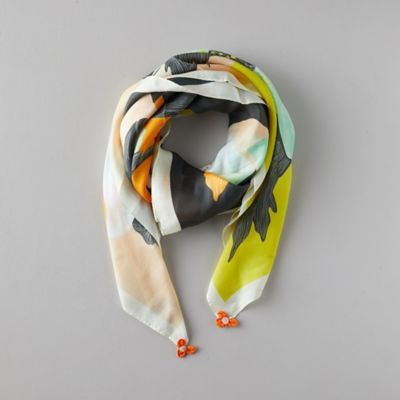 Botanical Silk Scarf