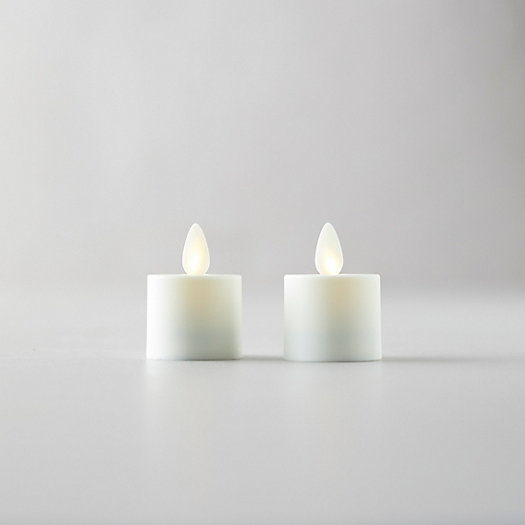 View larger image of Flameless Tea Lights, Set of 2