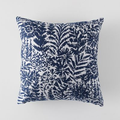 Indigo Heath Outdoor Pillow
