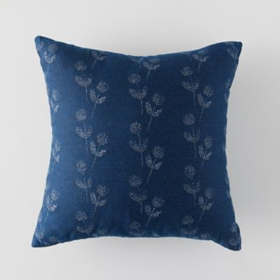 Indigo Wish Outdoor Pillow