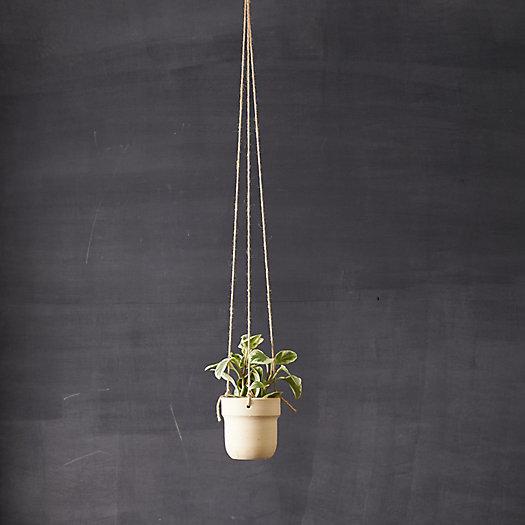 View larger image of Hanging Ceramic Pot