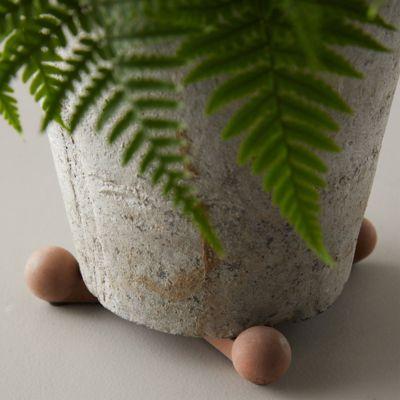 Concrete Pot Feet, Set of 3
